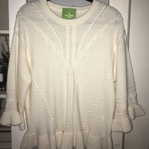OBO - Kate Spade - Cable Knit Sweater
